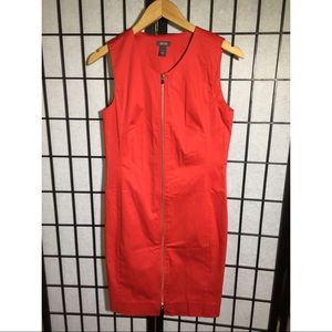 NWOT Kenneth Cole Reaction Zipper Dress